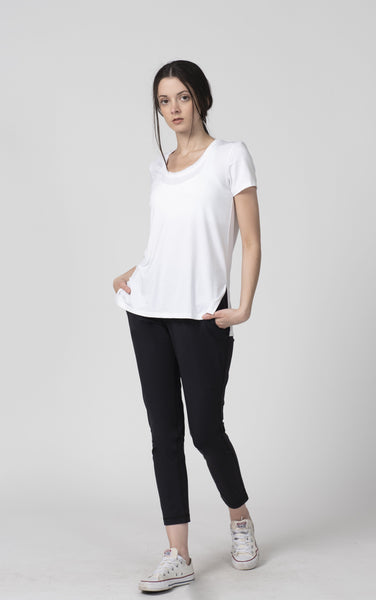 Beryl Soft T-Shirt - Tonic UAE Beryl Soft T-Shirt - Athletic Wear Tonic UAE - tonic athletic apparel Tonic UAE - tonic UAE