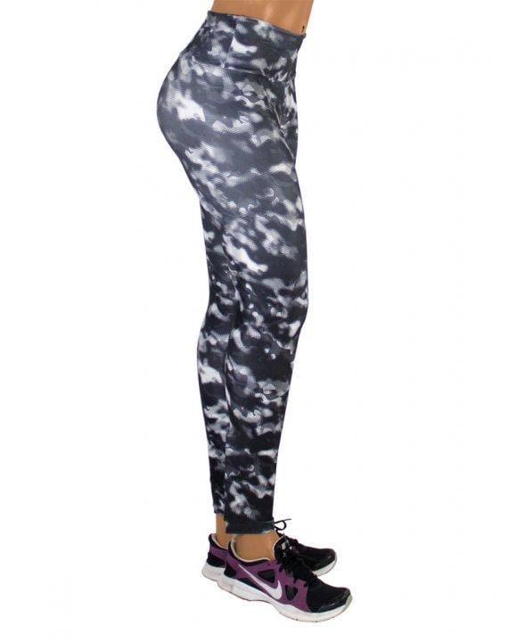 Black Camo Leggings Size Small/Medium