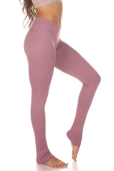Kaya Legging Mauve - Tonic UAE Kaya Legging Mauve - Athletic Wear Mika - tonic athletic apparel Tonic UAE - tonic UAE