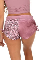 Lucia Short Print-Mauve - Tonic UAE Lucia Short Print-Mauve - Athletic Wear Mika - tonic athletic apparel Tonic UAE - tonic UAE