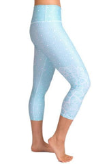 Moroccan Sky Capri - Tonic UAE Moroccan Sky Capri - Athletic Wear Inner Fire - tonic athletic apparel Tonic UAE - tonic UAE