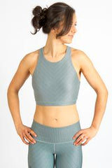 Moto Mint Shine Bra - Tonic UAE Moto Mint Shine Bra - Athletic Wear Inner Fire - tonic athletic apparel Tonic UAE - tonic UAE