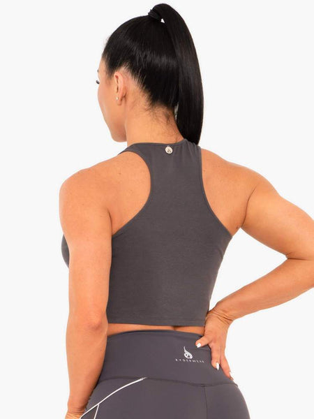 Cropped Racer Back Tank Periscope - Tonic UAE Cropped Racer Back Tank Periscope - Athletic Wear Ryderwear - tonic athletic apparel Tonic UAE - tonic UAE