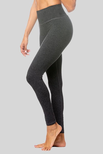 Charcoal Brushed Rosie High Waist leggings - Tonic UAE Charcoal Brushed Rosie High Waist leggings - Athletic Wear Vie Active - tonic athletic apparel Tonic UAE - tonic UAE