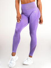 Seamless High Waist Leggings Purple Marl - Tonic UAE Seamless High Waist Leggings Purple Marl - Athletic Wear Ryderwear - tonic athletic apparel Tonic UAE - tonic UAE