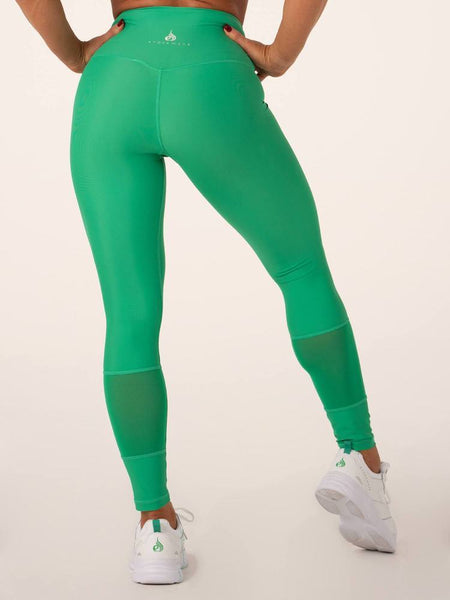 Mesh High Waisted Leggings - Tonic UAE Mesh High Waisted Leggings - Athletic Wear Ryderwear - tonic athletic apparel Tonic UAE - tonic UAE