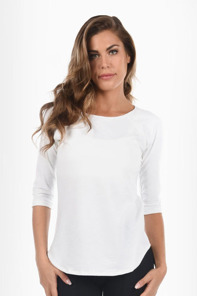 Gemma Baseball Tee - Tonic UAE Gemma Baseball Tee - Athletic Wear Tonic UAE - tonic athletic apparel Tonic UAE - tonic UAE