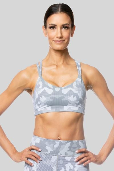 Sand Camo Lindsey Strappy Bra - Tonic UAE Sand Camo Lindsey Strappy Bra - Athletic Wear Vie Active - tonic athletic apparel Tonic UAE - tonic UAE