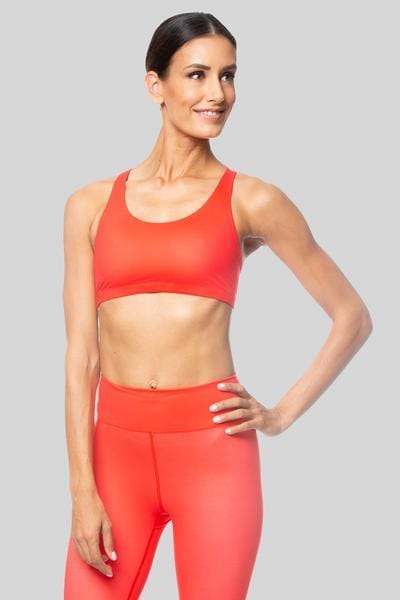 Sunny Bra Poppy - Tonic UAE Sunny Bra Poppy - Athletic Wear Vie Active - tonic athletic apparel Tonic UAE - tonic UAE