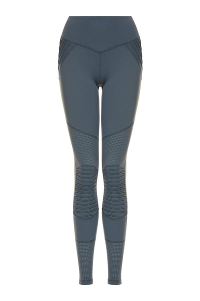 Peace of Mind Moto Legging Teal - Tonic UAE Peace of Mind Moto Legging Teal - Athletic Wear L'URV - tonic athletic apparel Tonic UAE - tonic UAE