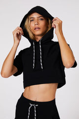 Double Play Cropped Hoodie - Tonic UAE Double Play Cropped Hoodie - Athletic Wear L'URV - tonic athletic apparel Tonic UAE - tonic UAE