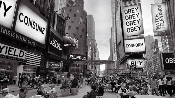 they live like mind obey consume gestalt illusion