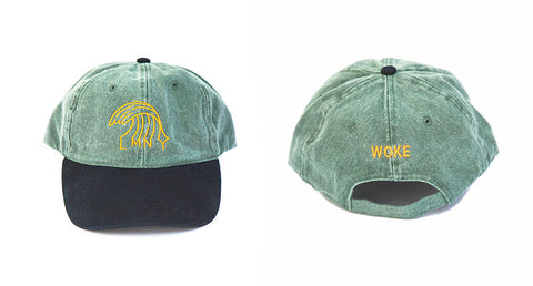 Like Mind New York New Wave Cap Green Denim