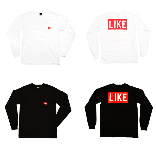 Like Mind New York Long Sleeve Screen Print