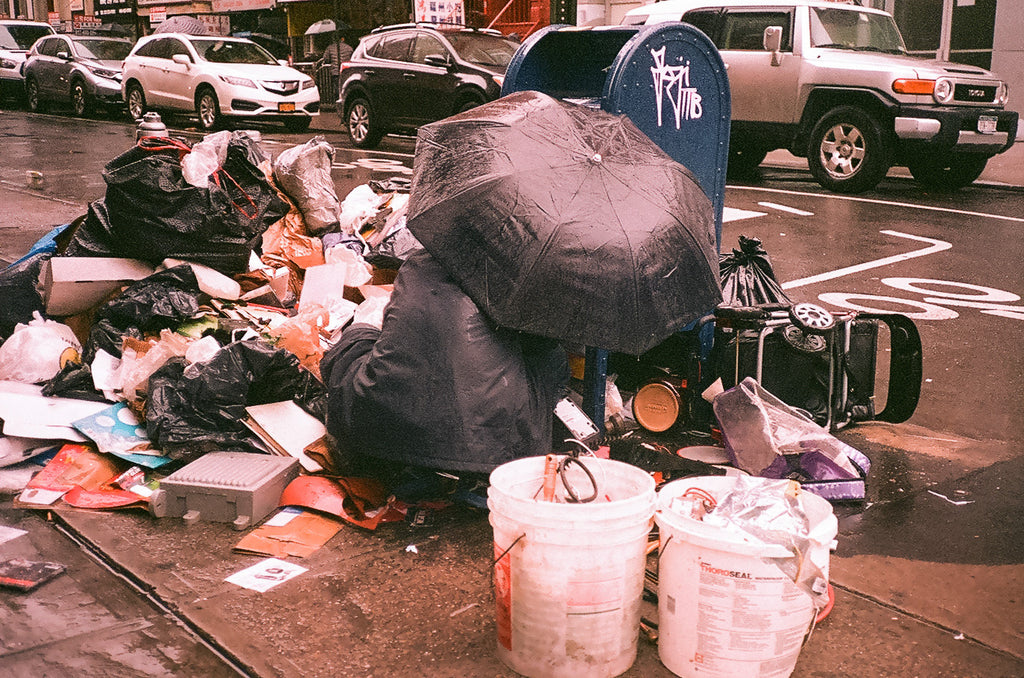 like mind new york trash 35mm