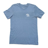 Like Mind New York Summer Waves Tee Steel Blue