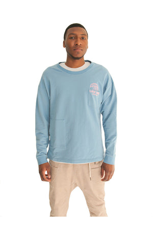 Like Mind New York Front-side Long Sleeve On Model