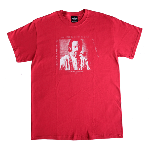 Centered Tee Red Front