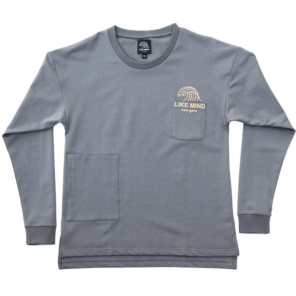 The Front-side Long Sleeve