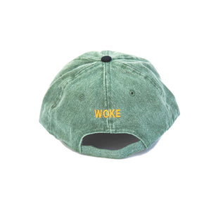 The New Wave Cap (Green Denim) Back