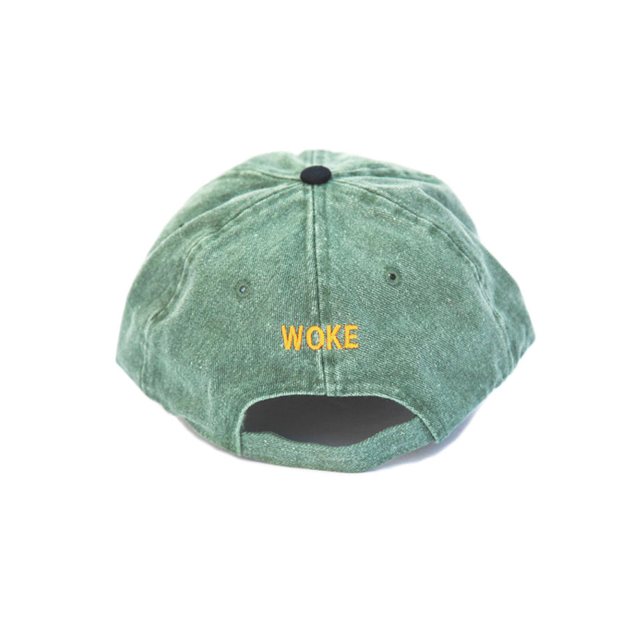 The New Wave Cap (Green Denim)