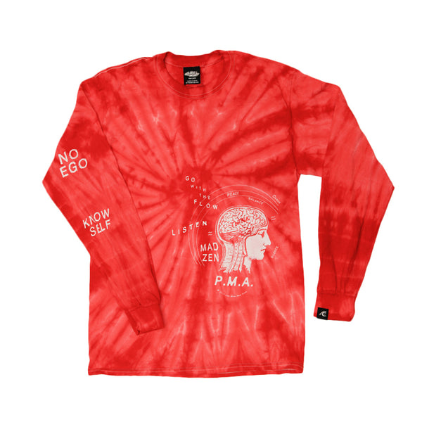 MAD ZEN Long Sleeve (Red)