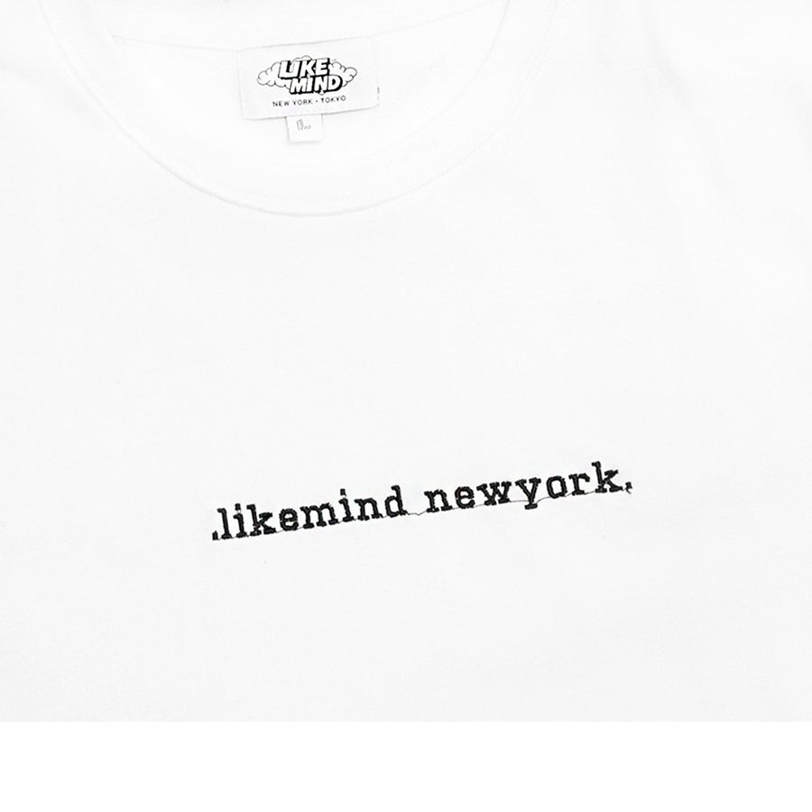Like Mind New York Embroidered Tee