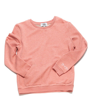 Kana Pocket Crew Neck (Salmon)
