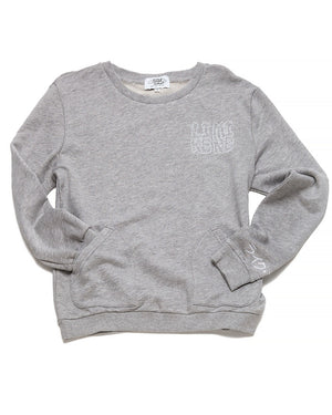 Kana Pocket Crew Neck (Grey)