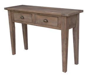IRISH COAST SMALL CONSOLE TABLE - BLACK OLIVE