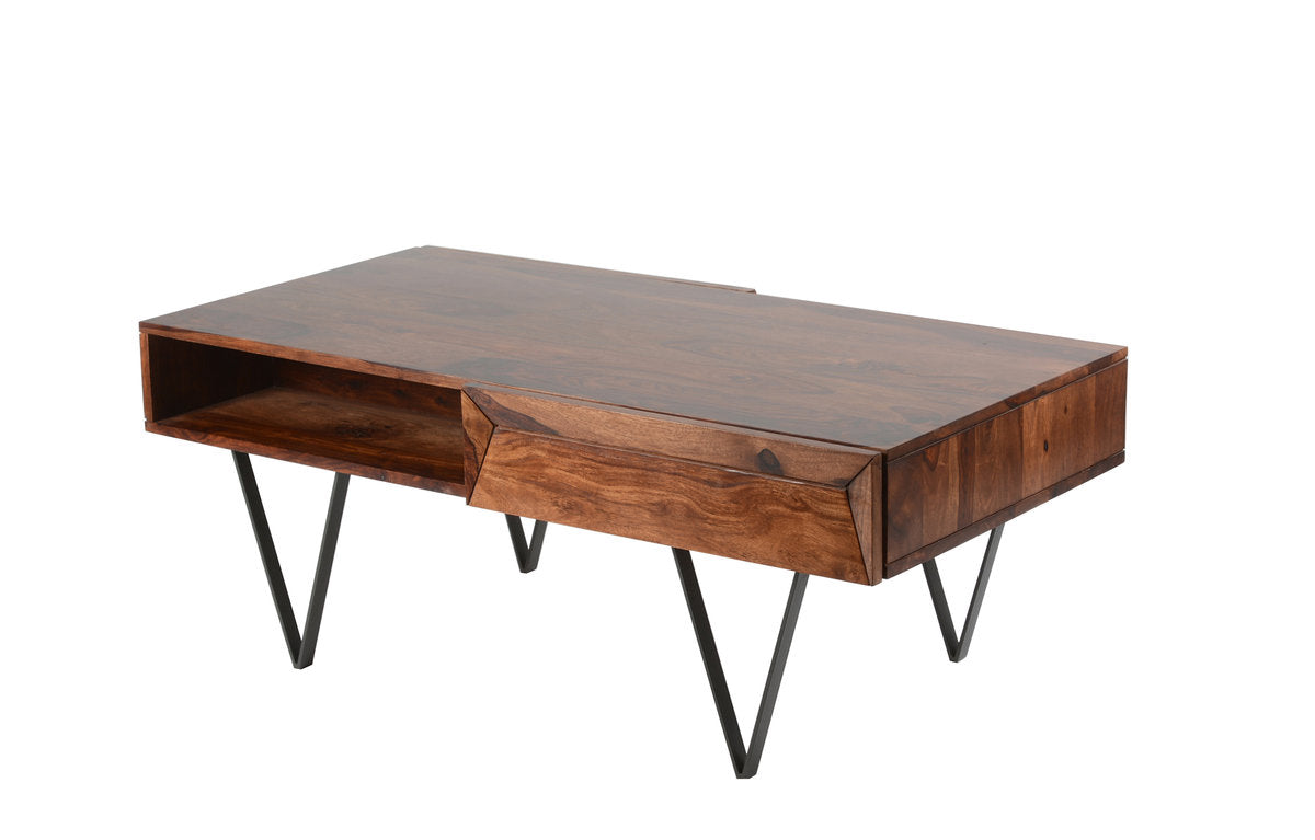 MATRIX COFFEE TABLE - SHEESHAM ROSEWOOD