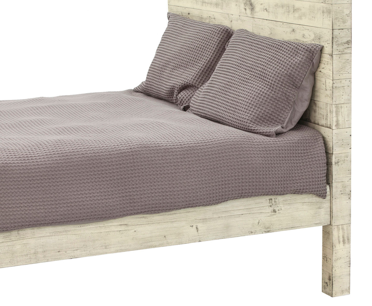 MALIBU QUEEN BED - SANDSTONE