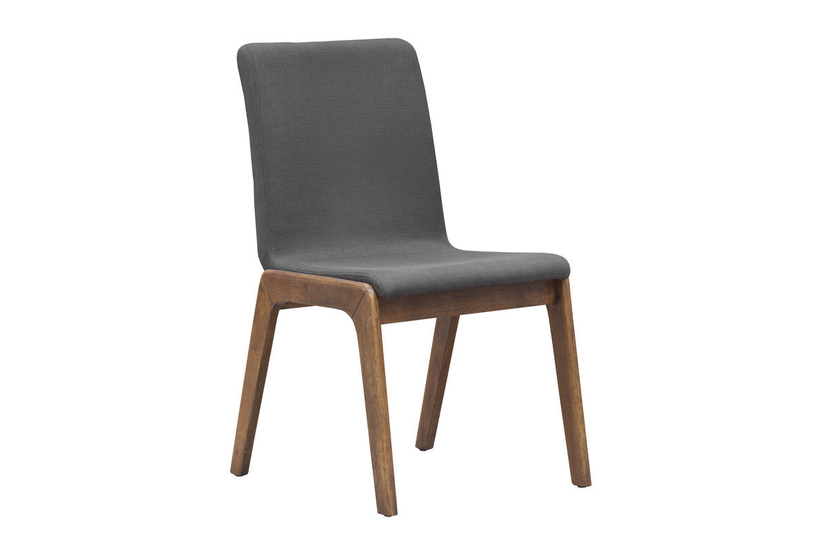 Remix Dining Chair - Grey Fabric (2/box)