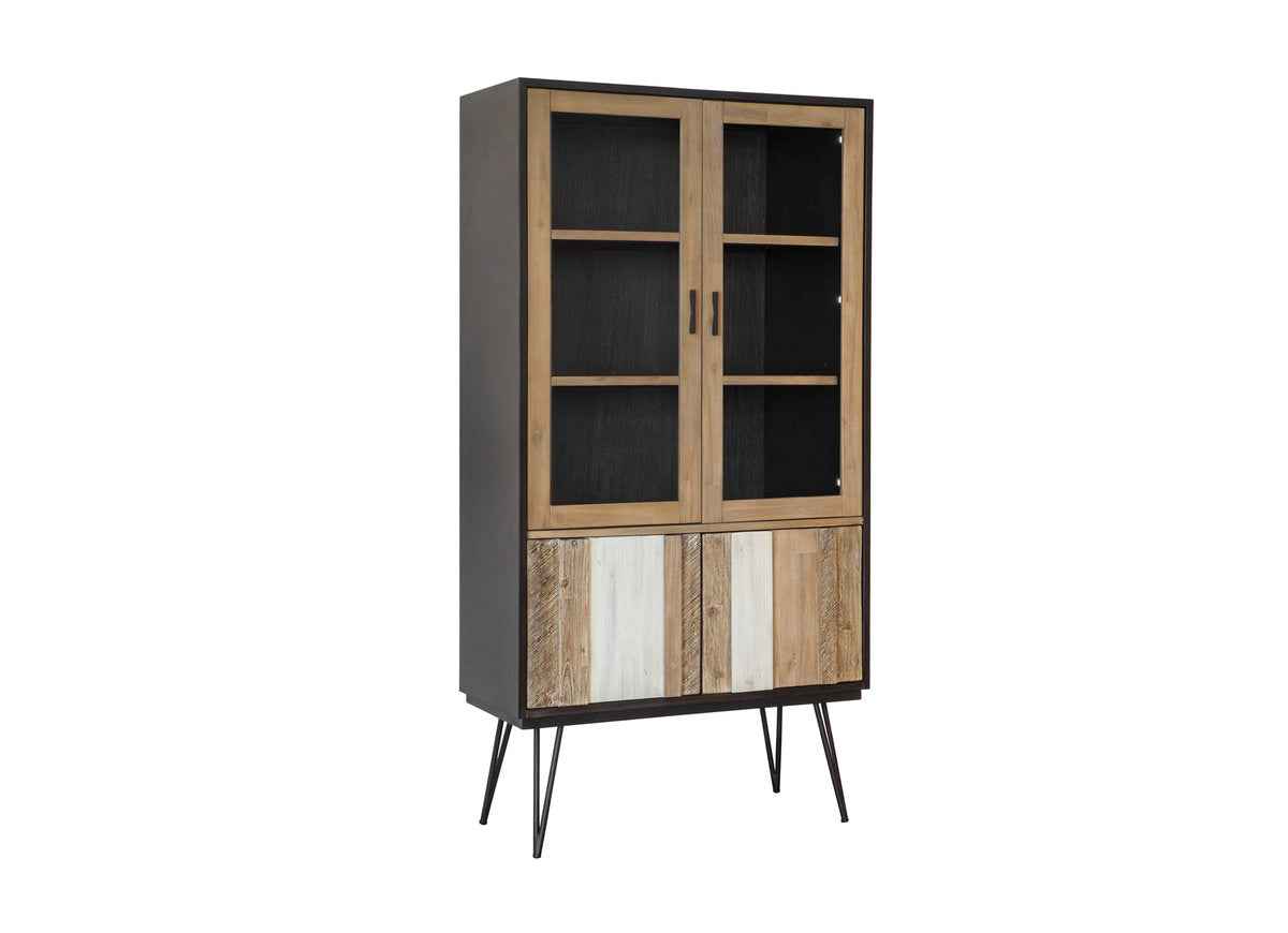 NOIR HAVANA DISPLAY CABINET