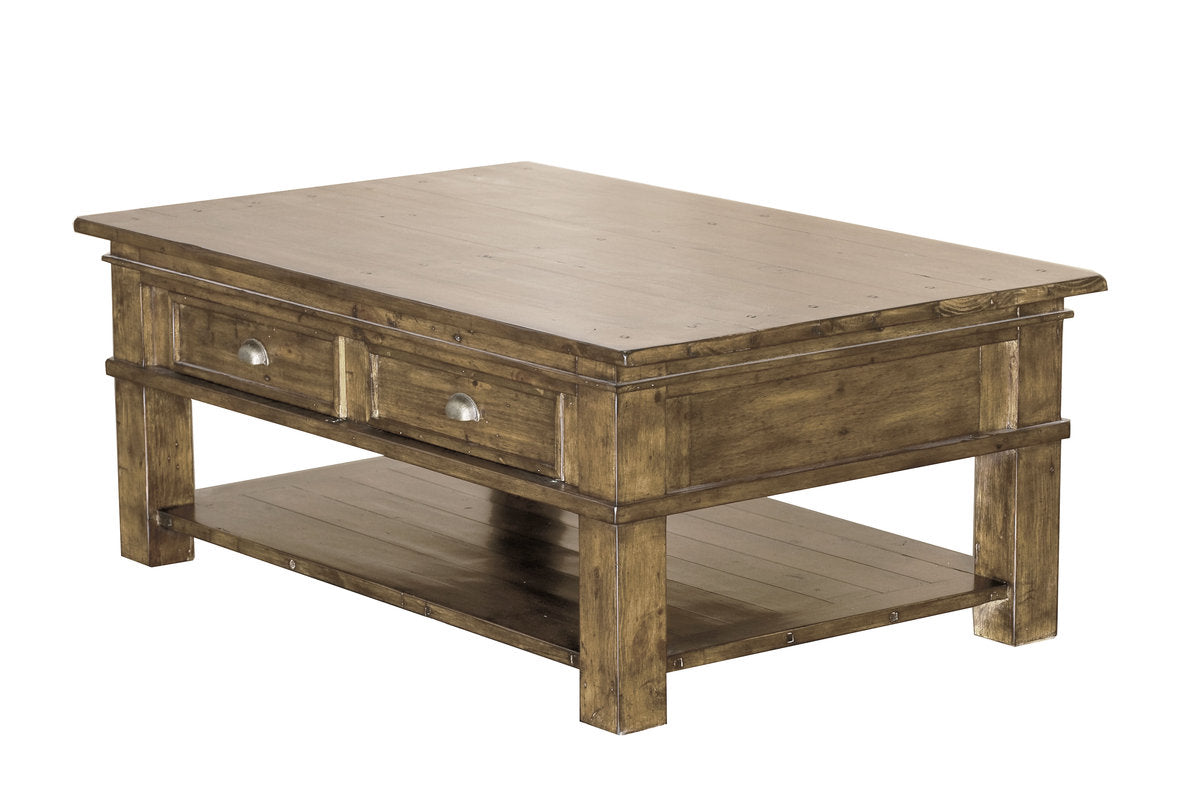 SETTLER SMALL COFFEE TABLE - SUNDRIED