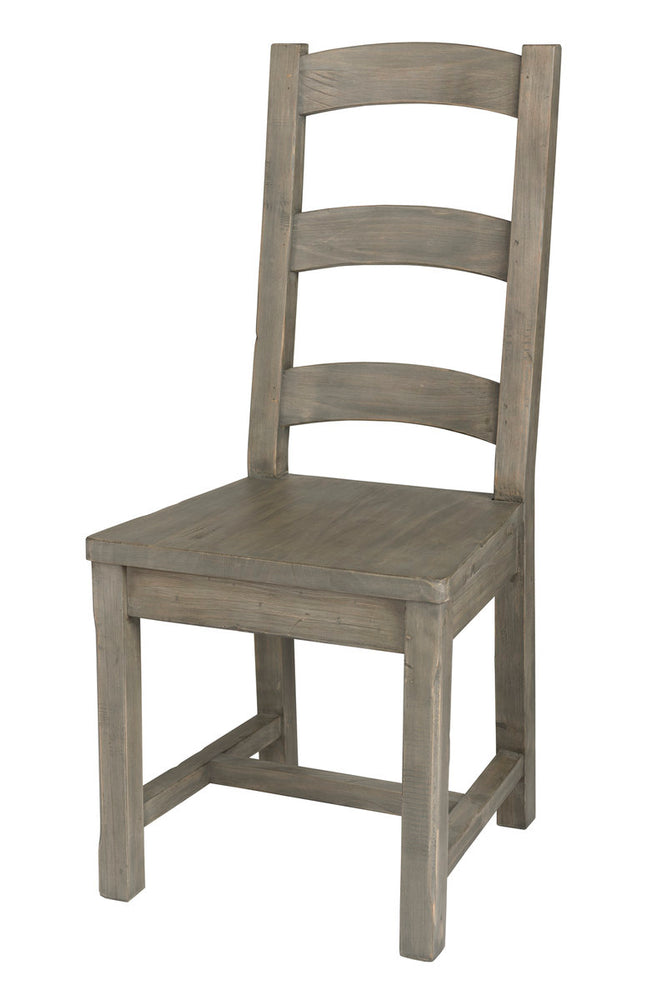 IRISH COAST LADDER BACK CHAIR - BLACK OLIVE (2/BOX)