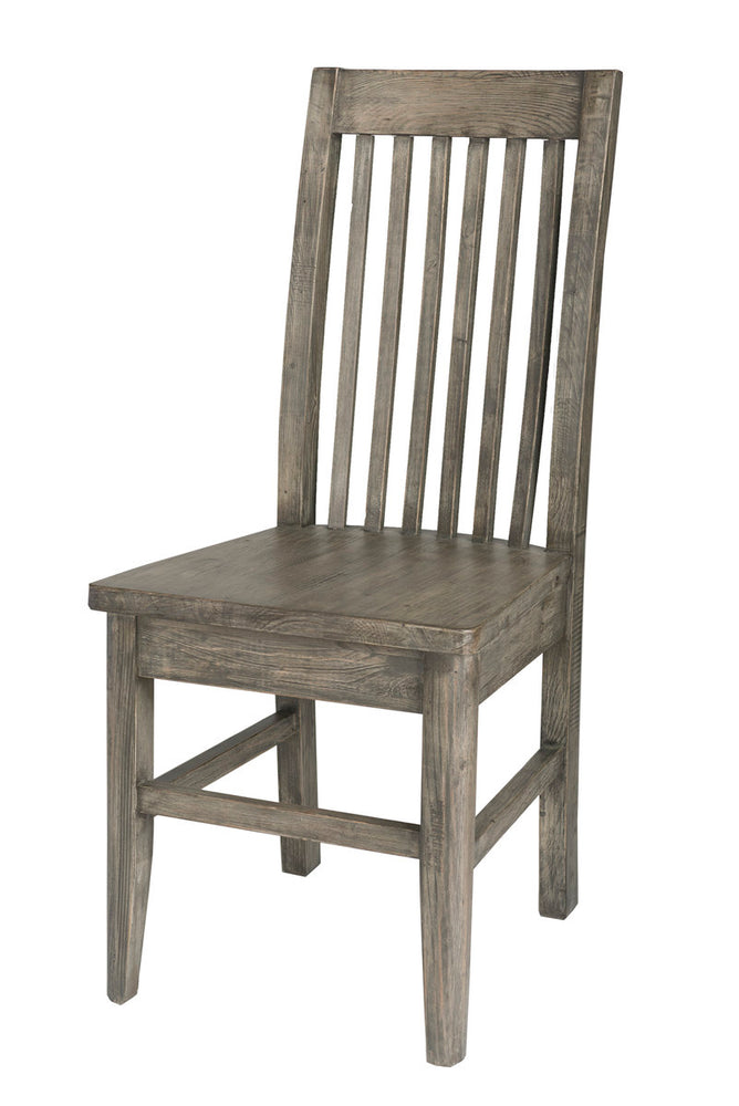 IRISH COAST SLAT BACK CHAIR - BLACK OLIVE (2/BOX)