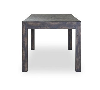 POST & RAIL REGULAR EXTENSION DINING TABLE - GOLDRUSH