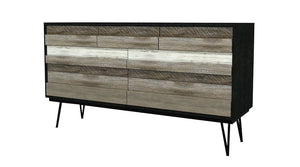 NOIR HAVANA 5 DRAWER CHEST (REVISED)