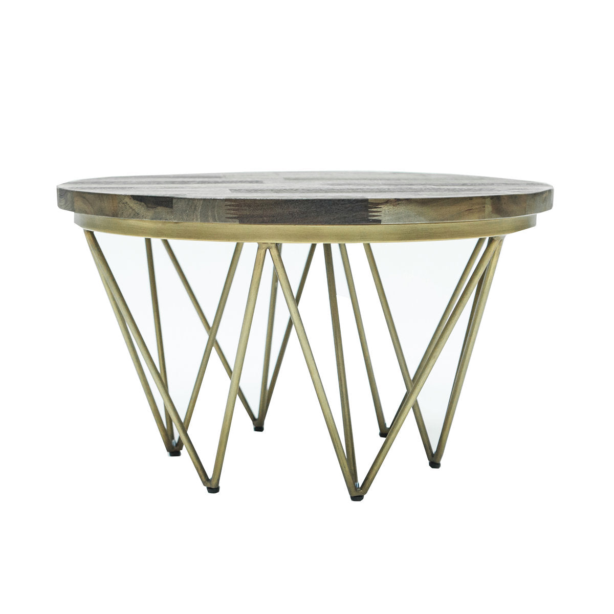 CARMEL ROUND COFFEE TABLE