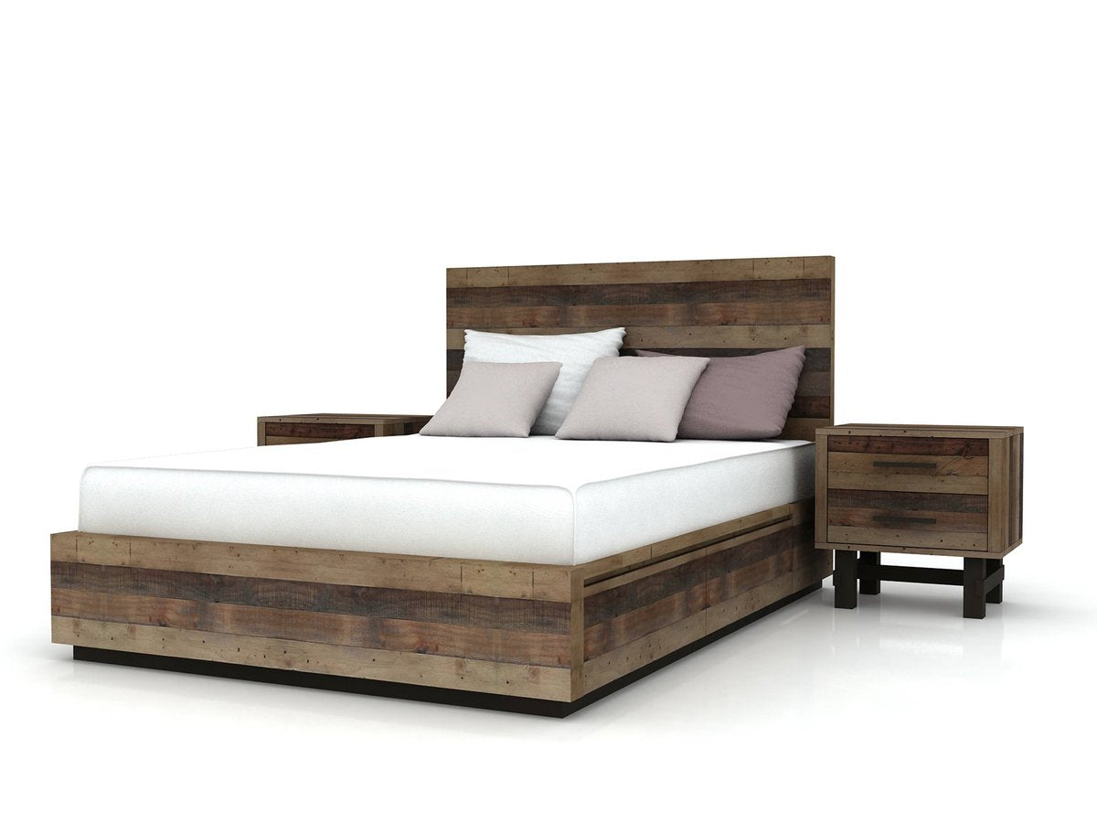 CRUZ KING STORAGE BED