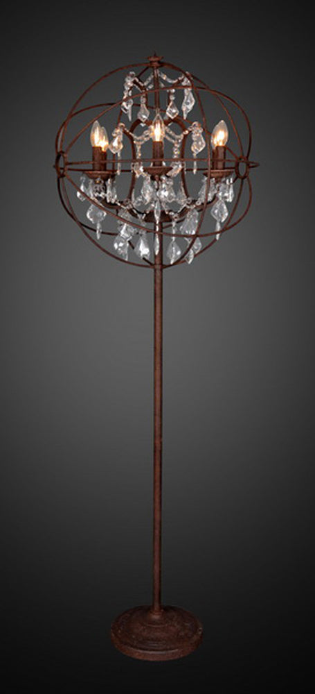 CANDELABRA FLOOR LAMP