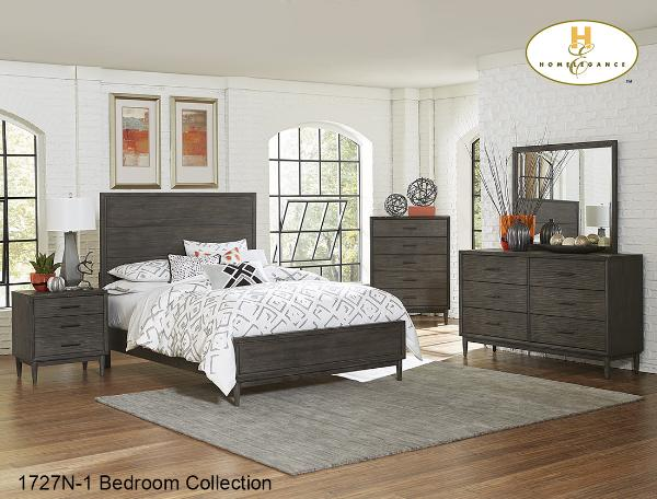 1727N Bedroom Collection Beds