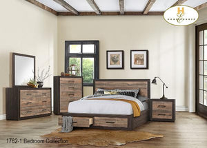 1762 Bedroom Collection Bed