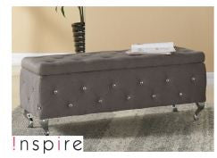 Monique Storage Ottoman