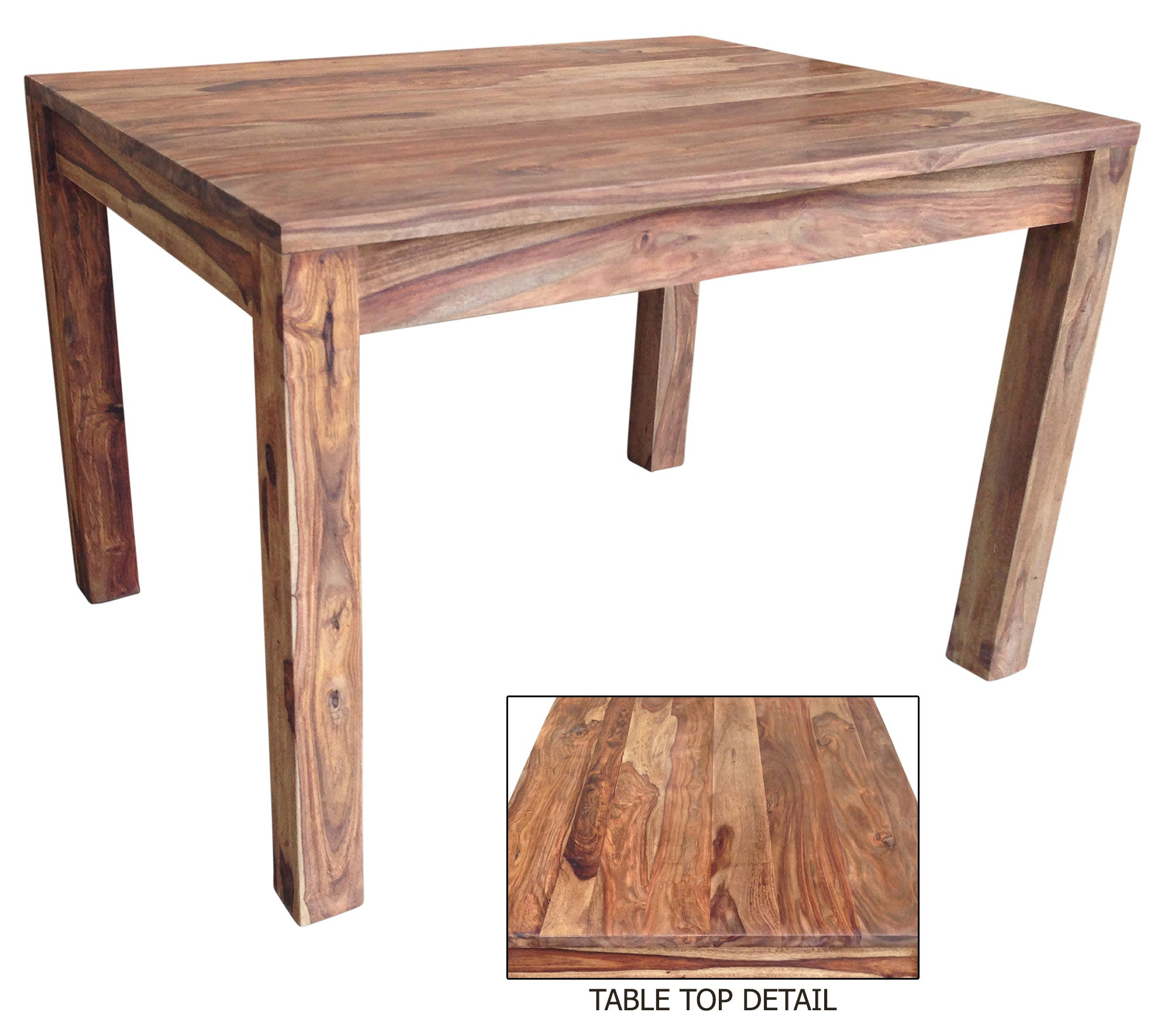 Nada dining table solid sheesham wood