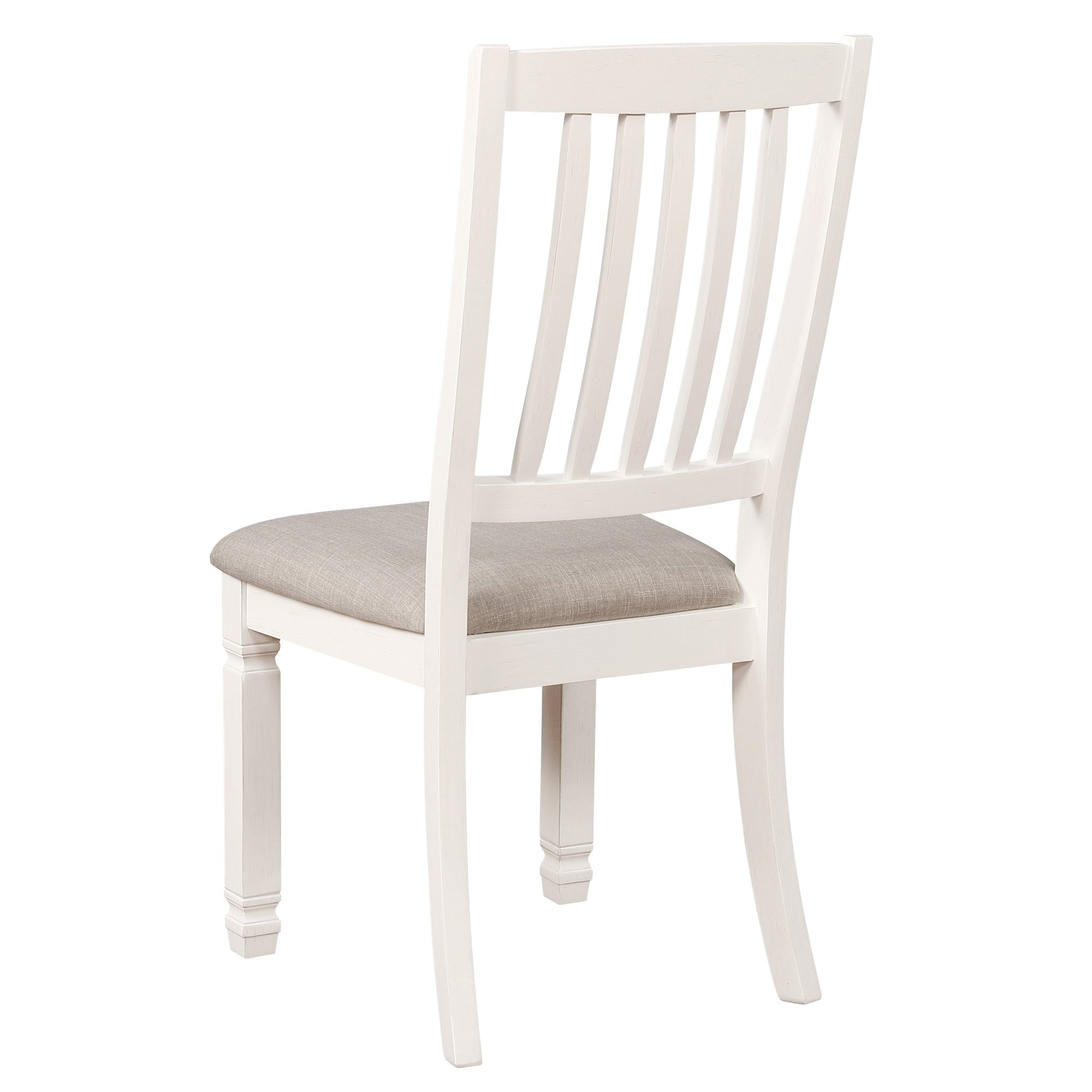 Highlands Side Chair in Antique White, 2pk