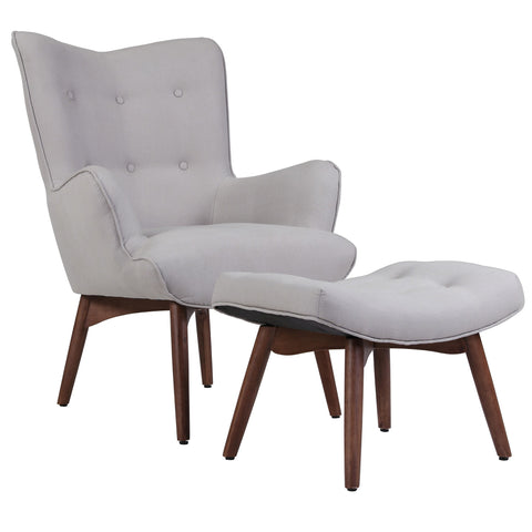 Shane accent chair in three colour options.