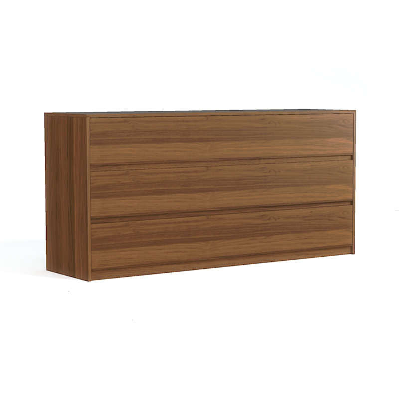 Bachelor dresser , walnut