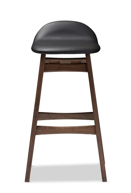 "Bloom Stool 26""H - Walnut"